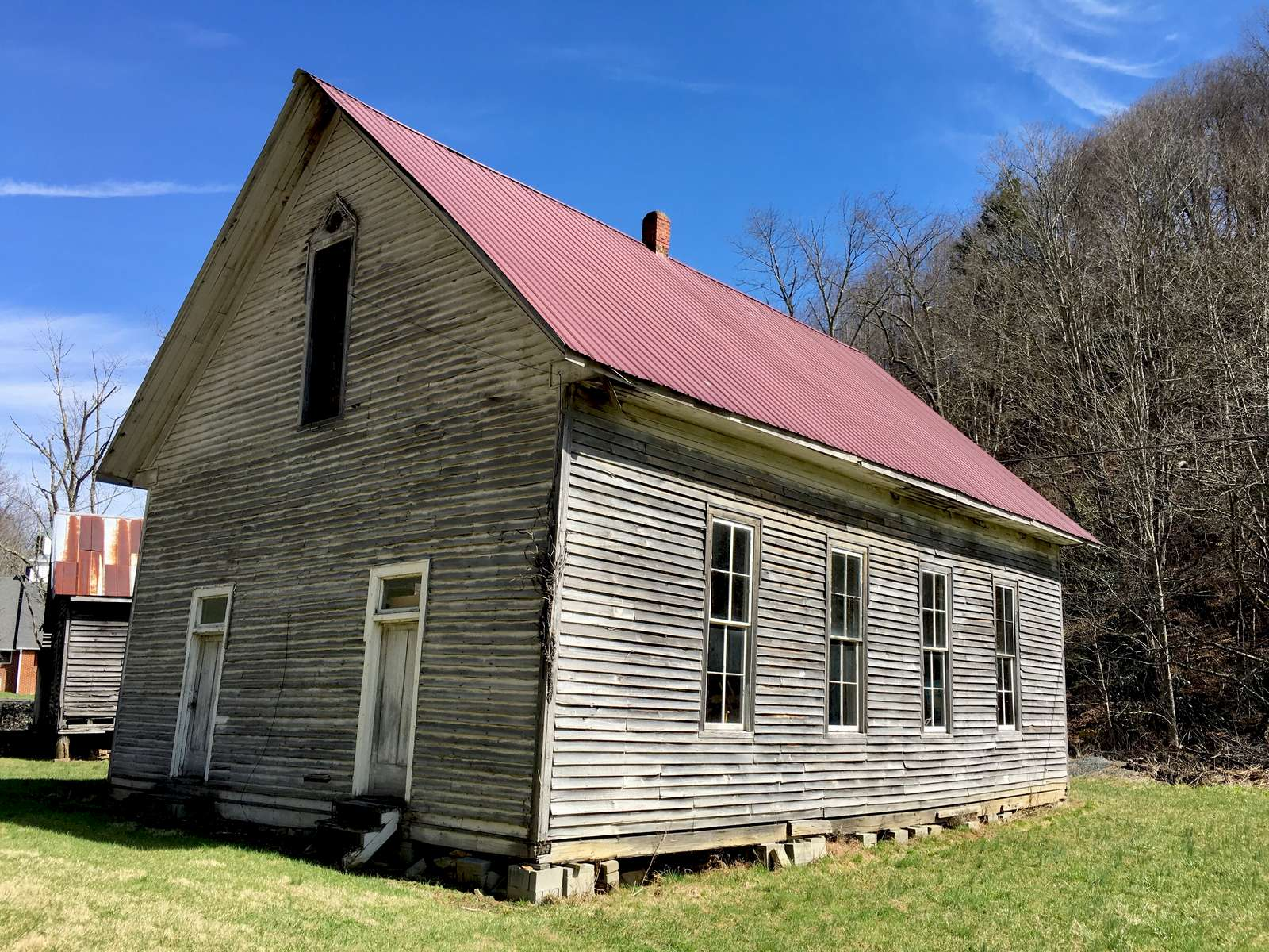 Old and abandoned structure located in the western part of Watauga County