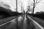 A rainy long run on the green trail between Duisburg and Oberhausen. Germany, December 22, 2020.