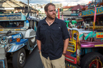 Josh Gates, Expedition Unknown, Baguio, Philippines, Travel Channel.
