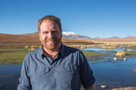 Josh Gates, Expedition Unknown, for The Travel Channel,  Acatama Desert, Chile.