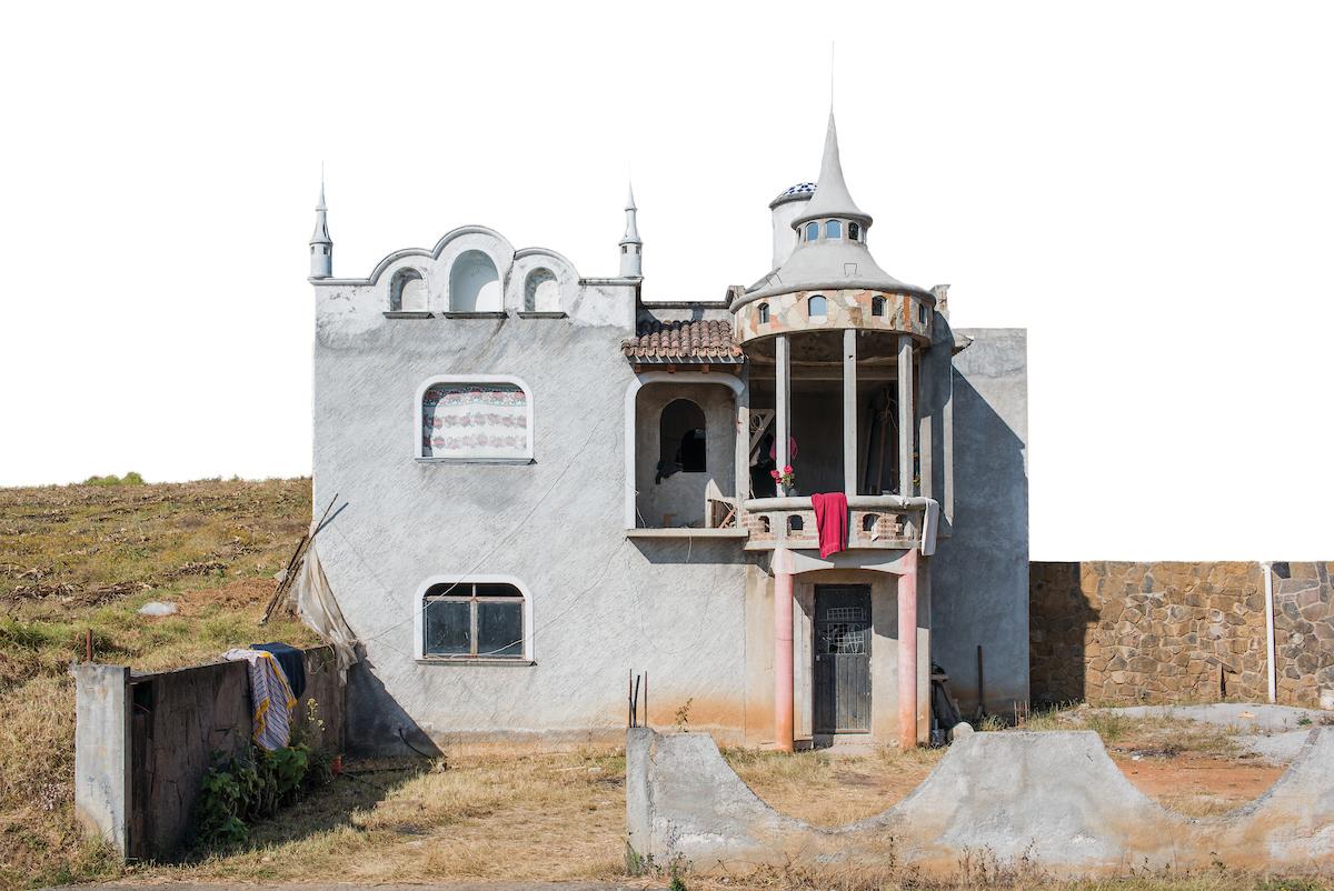 Arquitectura Libre, near Reserva del PeÒon, Estado de Mexico, Mexico