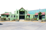 Free Architecture in the Dessert near Zapotitlan Salinas, Tehuacan, Puebla, Mexico
