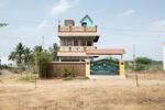 Free Architecture, En route from Bengaluru to Tiruvannamalai, Velugapuram, Tamilnadu, India