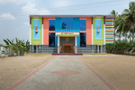 Free Architecture, wedding hall. En route from Bengaluru to Tiruvannamalai, Vesamangalam, Tamilnadu, India