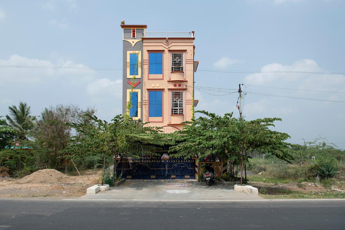 Free Architecture, En rout from Bengaluru to Tiruvannamalai, Chengam Tukapet, Tamilnadu, India