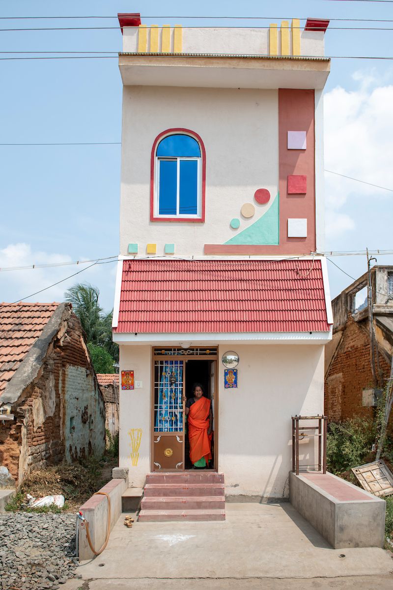 Free Architecture, Neri Nagar, Tiruvannamalai, Tamilnadu, India