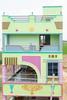Free Architecture, on the road from Tiruvannamalai to Pondicherry, Tamilnadu, India