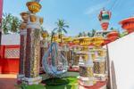 The self-built fortress of Kanagavelu; Kottai House. Free Architecture. Kottakuppam, Pondicherry, India