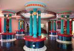 Fron Lobby. The self-built fortress of Kanagavelu; Kottai House. Free Architecture. Kottakuppam, Pondicherry, India